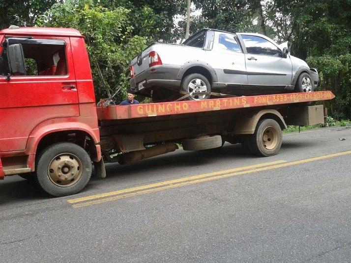 O acidente ocorreu na manhã desta quarta-feira (4)