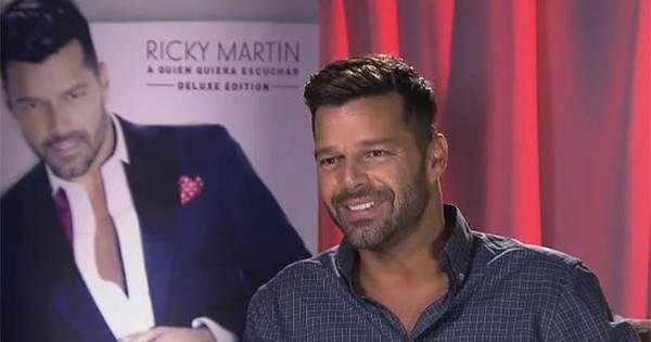 Cegonha à vista? Ricky Martin abre o coração em entrevista a Gugu ...