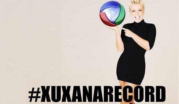 Xuxa coloca foto com logo da Record<br />como perfil de suas redes sociais