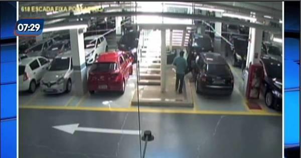 Vídeo mostra sequestro de juiz em estacionamento de shopping na ...