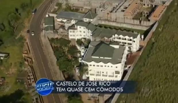 Família de José Rico diz que vai continuar construção de castelo com quase 100 quartos