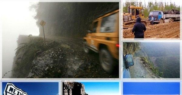 Vai encarar? Veja as estradas mais perigosas do mundo - Fotos ...