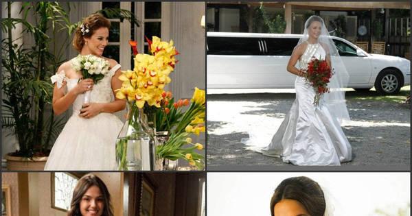 Românticas, ousadas e sensuais! Inspire-se nas noivas mais lindas ...