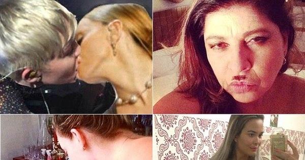 Nudez, beijos e até sangue! Veja os famosos mais polêmicos das ...