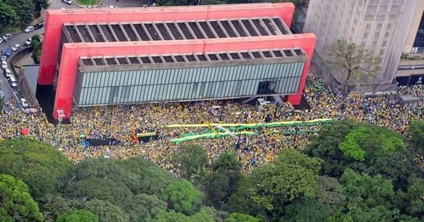 Veja como foram as manifestações contra o governo pelo Brasil ...