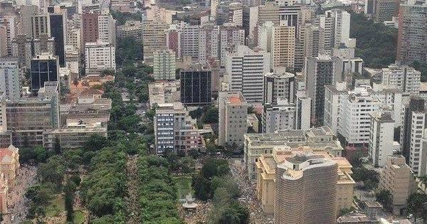 Manifestação contra Dilma reuniu 24 mil pessoas na praça da ...