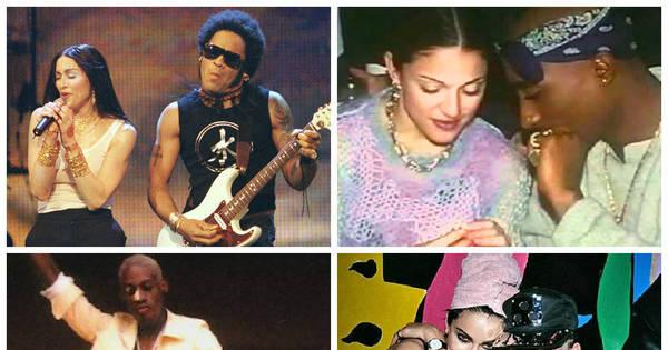 De Lenny Kravitz a Tupac, 15 namorados que Madonna já teve e ...