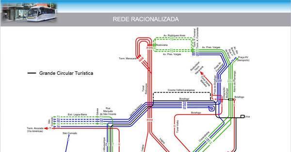 Prefeitura vai reorganizar linhas e 700 ônibus são retirados da zona ...