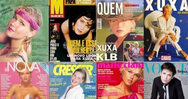 Ela é top, capa de revista! Reveja 51 capas que Xuxa estampou ao ...