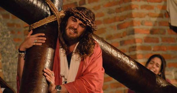 Igor Rickli interpreta Jesus Cristo em Nova Jerusalém - Fotos - R7 ...