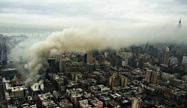Explosão causa desabamento de prédio em Nova York e deixa pelo menos 12 feridos