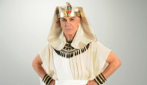 Figurinista dá detalhes sobre a ostentação no figurino cheio de joias do faraó Seti I