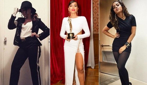 Anitta aparece sem calcinha em noite de premiação. Confira looks inusitados da funkeira