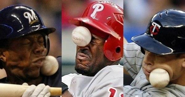 Um jogo de beisebol pode ser perigoso... Muito perigoso - Fotos ...