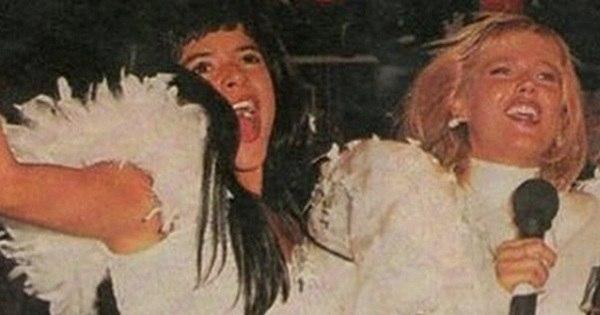 Nostalgia: Mara Maravilha e ex-paquitas parabenizam Xuxa por ...