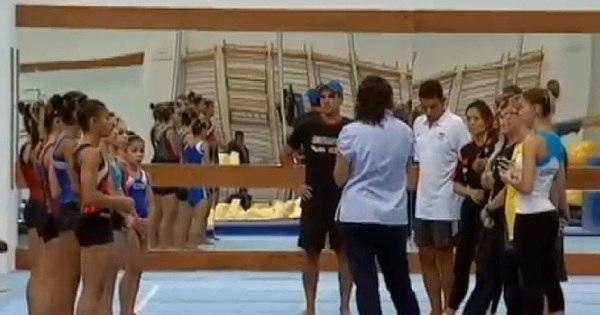 Meninas da ginástica artística treinam duro para representar o Brasil ...