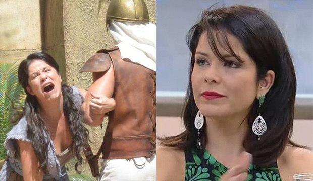 &#x27;Sofri muito com Joquebede, mas valeu a pena&#x27;, diz Samara Felippo sobre <em>Os Dez Mandamentos</em>