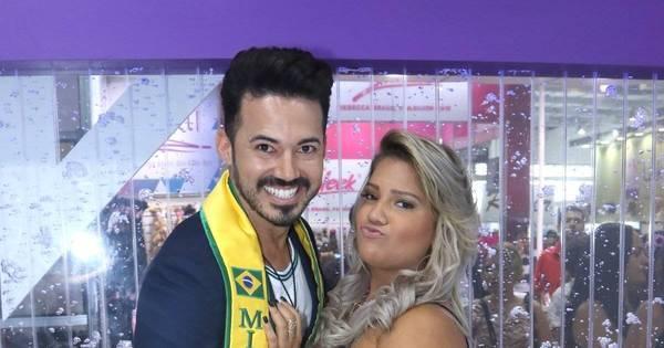 Mulher Filé ganha apalpada de Mister Brasil em feira de beleza em ...