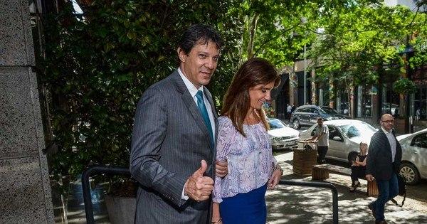 Prefeito Fernando Haddad e primeira-dama vão à almoço com high ...