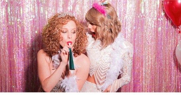 Cadê o Calvin Harris? Taylor Swift organiza festa cheia de ...