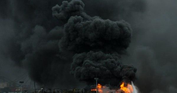 Fumaça de incêndio em Santos pode causar falta de ar, doenças ...
