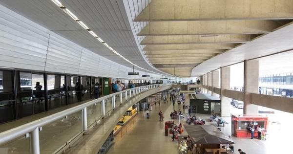 Aeroporto de Confins opera por instrumentos e registra 30 voos ...