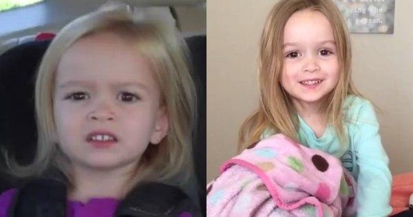 Saiba como está Chloe, a menininha que virou meme na internet