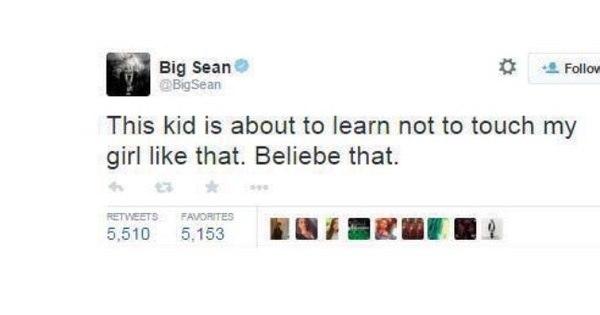 Justin Bieber agarra Ariana Grande em show e é ameaçado pelo ...