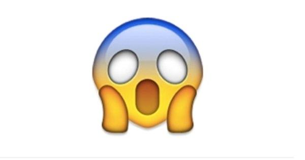 Resultado de imagem para emoji assustado
