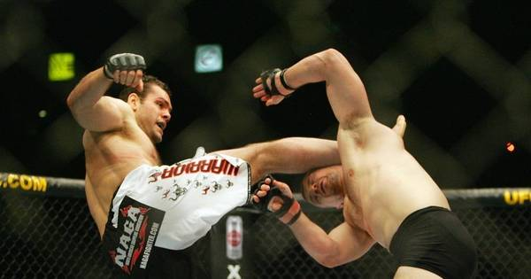 Brasileiro pode reviver nocaute espetacular em lenda no UFC ...