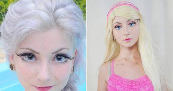 """Barbie Humana brasileira fala sobre mudança radical: """"É assim que ..."""