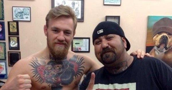 McGregor tatua tigre na barriga para enfrentar José Aldo - Esportes ...