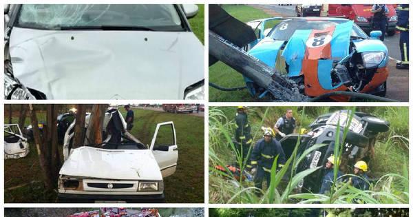 DF tem média de um acidente com morte por dia e registra cenários ...