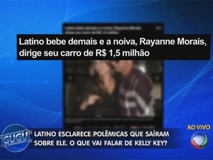 Casado com rayanne morais latino avisa ser fiel só ao futuro