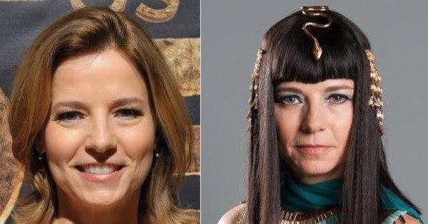 Impressionante! Veja o antes e depois da caracterização do elenco ...