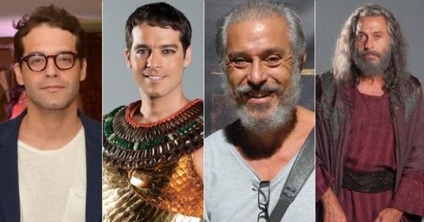 Veja o antes e depois da caracterização do elenco masculino de Os ...