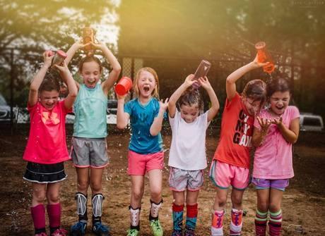 Fotógrafa faz ensaio mostrando como são as meninas de verdade