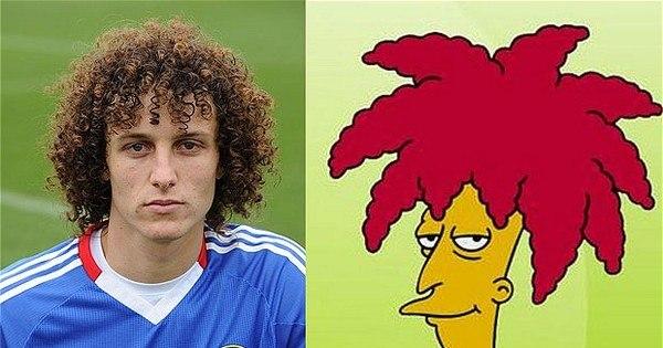 Veja dez famosos que são idênticos a personagens de Os Simpsons