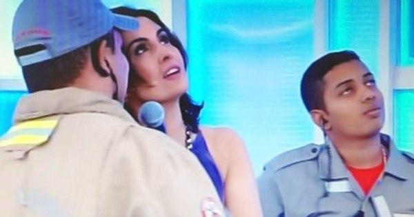 Lâmpada explode durante programa ao vivo de Fátima Bernardes ...