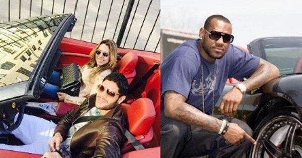Futebol x NBA x lutas: veja quais esportistas têm os melhores carrões