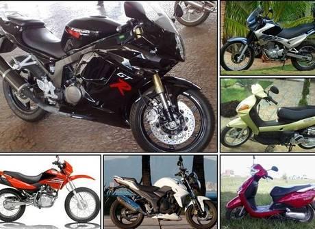 Veja 17 modelos de motos novas<br />e usadas que custam até R$ 10 mil