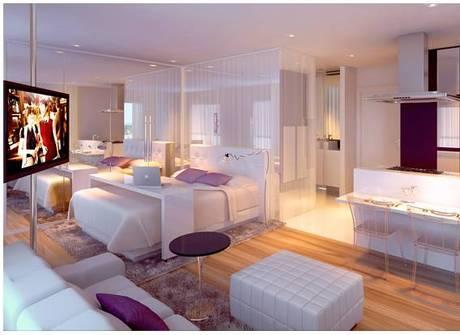 Quitinete de 40 m² está à venda por R$ 630 mil em área nobre de SP