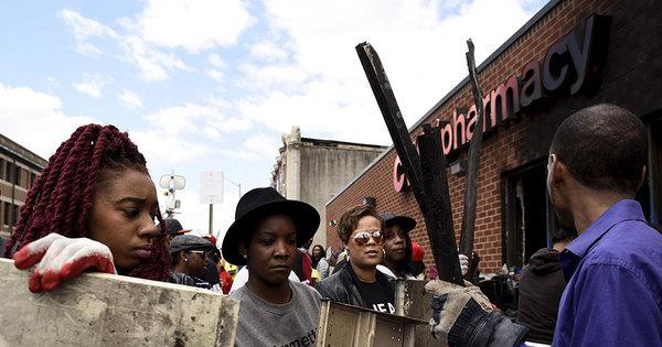 Baltimore, antigo motor econômico dos EUA, afundada na ...