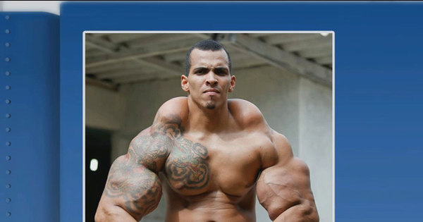 Músculo em excesso! Hulk Brasileiro fala do drama com os ...