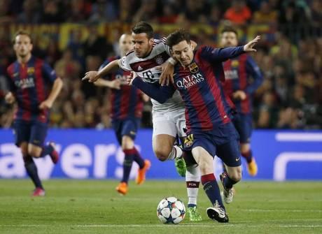 Show de Messi e Neymar marca vingança do Barça contra o Bayern