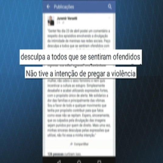 O caso da exposição foi parar na polícia. Duas jovens registraram ocorrência contra os autores dos compartilhamentos. Até agora, ninguém foi penalizado