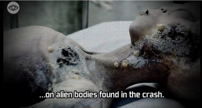 Carey rebateu imediatamente, dizendo que o corpo existe, mas está guardado em um ambiente secreto do governo americano