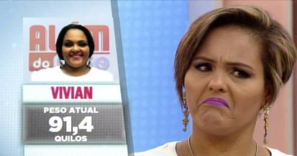 """Eliminada, Vivian fala sobre sua participação no Além do Peso: """"Me ..."""
