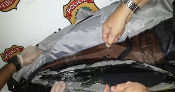 PF prende francês com 9, 5 kg de cocaína em aeroporto do Rio de ...