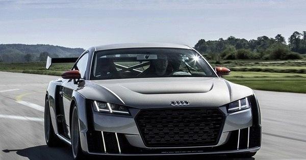 Audi mostra o TT Clubsport, conceito anabolizado com turbo elétrico ...